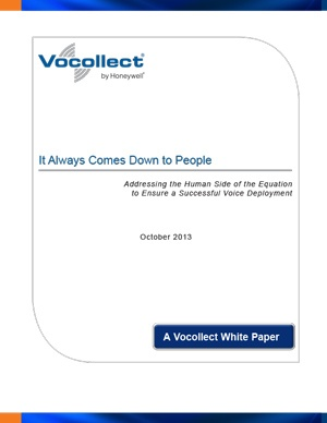 White Paper - It Always Comes Down to People - The Human Equation of a Successful Voice Deployment