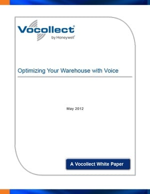 White Paper - Five Cost Effective Reasons to Optimize Your Distribution Center with Voice