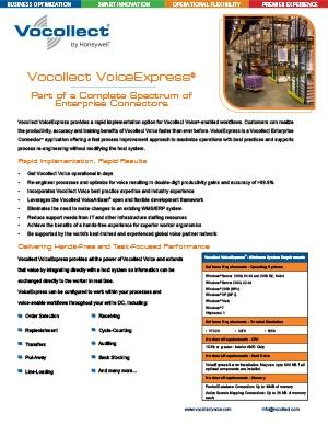Vocollect VoiceExpress