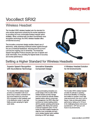 SRX2 Wireless Headset