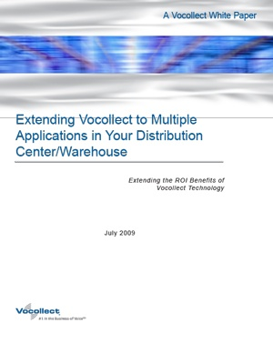White Paper - Extending Vocollect Honeywell Voice to Multiple Applications in Your Distribution Center/Warehouse